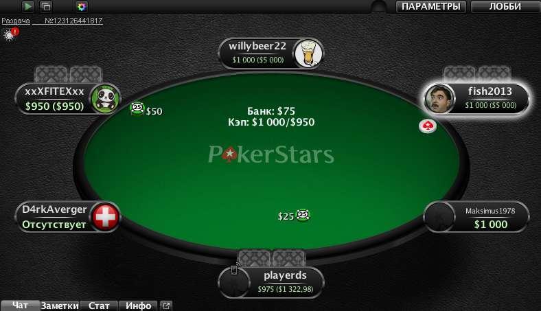 Покер на деньги PokerStars
