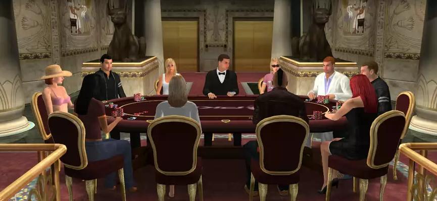 3D покер