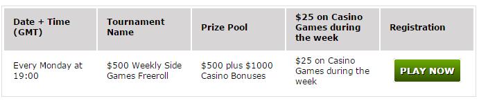 Акции Winner Покер