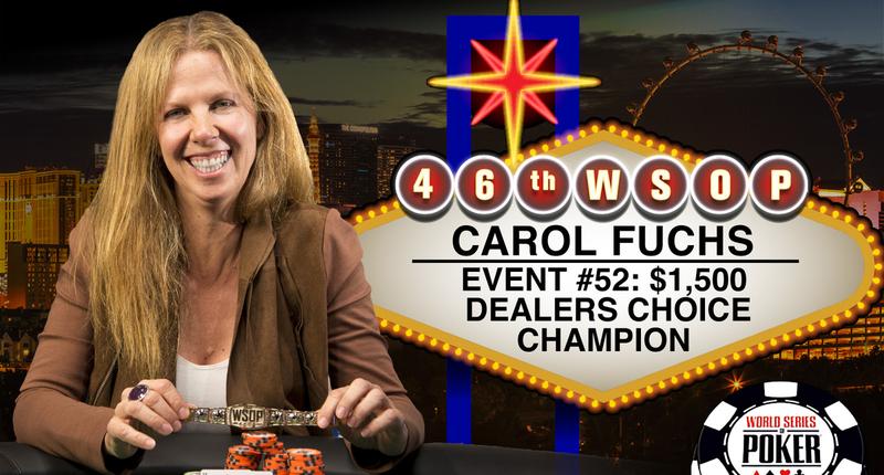 EV52 Bracelet winner_Carol Fuchs